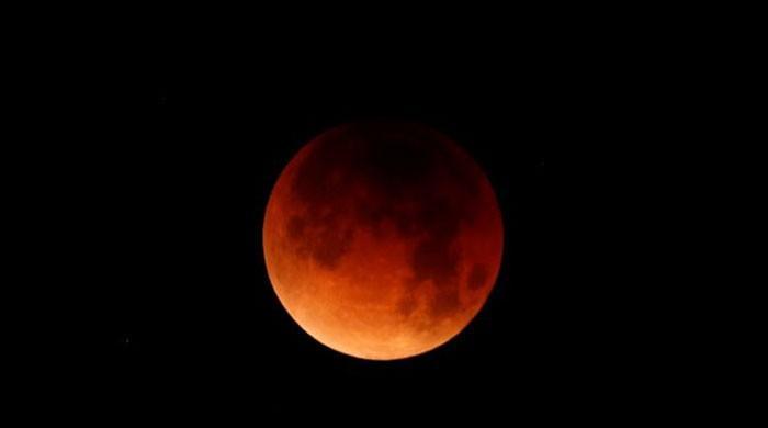 Lunar eclipse marks Moon landing's 50th anniversary
