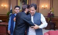 Shahid Afridi calls on PM Imran Khan