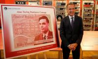 New UK bank note to feature mathematician Turing