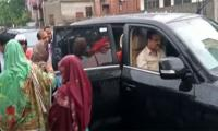 Punjab CM helps women stranded after heavy rain in Lahore