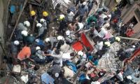 12 dead, several trapped in Mumbai building collapse