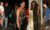 Shah Rukh Khan, family celebrate Aryan's debut