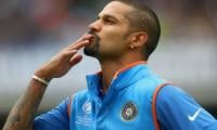 Shikhar Dhawan nails the Bottle Cap Challenge as he grabs his bat after injury