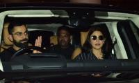 Virat Kohli, Anushka Sharma return from England after World Cup