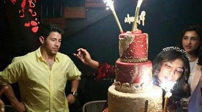 Admirable Priyanka Chopra Mercilessly Trolled For Blowing Cake Sparklers On Funny Birthday Cards Online Elaedamsfinfo