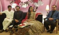 MQM-P leader Faisal Sabzwari marries Madeha Naqvi