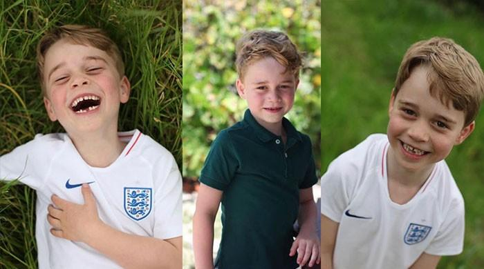 Kate Middleton turns photographer for son Prince George's birthday