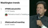 Imran Khan's address tops Twitter trends in Washington, Pakistan