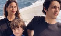 Aryan Khan, Suhana Khan vacation with mom Gauri in Maldives