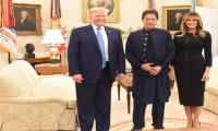 Melania Trump happy to receive PM Imran at White House