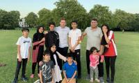 Eoin Morgan wins hearts as he stops to play cricket with an Afghan family