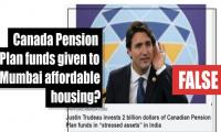 Fact-check: Were Canada Pension Plan funds  given to Mumbai affordable housing?