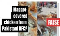 Fact-check: Is this maggot-covered chicken from Pakistani KFC?
