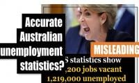 Fact-check: Accurate Australian unemployment statistics?