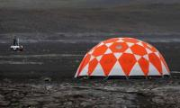 NASA descends on Icelandic lava field to prepare for Mars