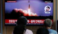 N. Korea fires projectiles, rejects further talks with South