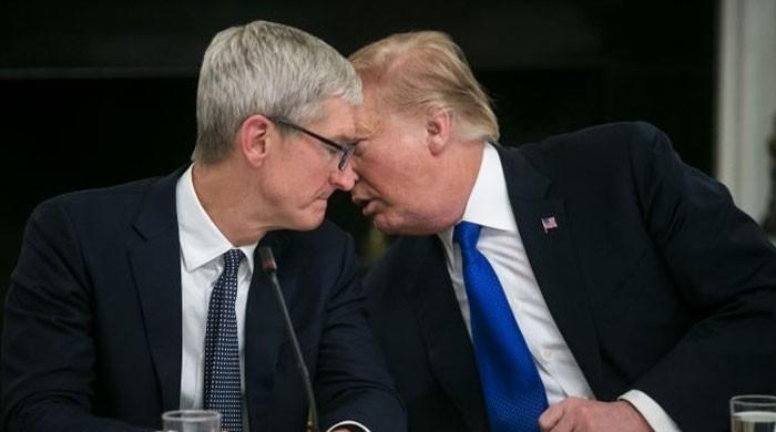 Trump says Apple will spend 'vast sums' in US