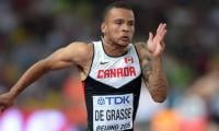 Canada's Andre De Grasse seeks to lay down marker