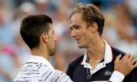Djokovic dumped as Medvedev sets up Cincy final with Goffin
