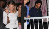 Bella Hadid exits club minutes after ex-flame The Weeknd walks in
