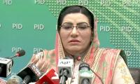 Kashmir issue is PTI govt's top agenda: Firdous