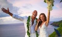 Dwayne Johnson ties the knot to Lauren Hashian in a secret Hawaiin wedding