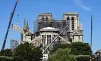 Notre-Dame works resume in Paris after lead scare
