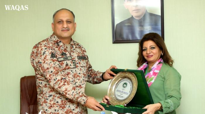 JPMC among best health facilities in Pakistan, says DG Rangers Sindh on its visit
