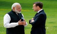 Macron to discuss Kashmir with Modi