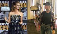 Brie Larson, Natalie Portman engage in hilarious banter over Thor's Mjolnir