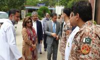 Paramedics' team from JPMC visits Sindh Rangers Hospital, Karachi