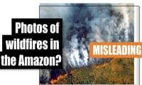 Fact-check: Photos of wildfires in the Amazon?