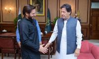 Shahid Afridi appreciates PM Imran's efforts for peace in occupied Kashmir