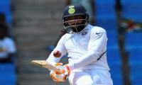 Jadeja leads India to 297 in first Test against Windies