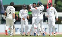 Sri Lankan bowlers dent New Zealand reply