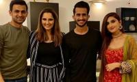 Sania Mirza, Shoaib Malik host dinner for newlyweds Hassan Ali and Samiya Arzoo