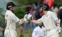 Latham, Watling power New Zealand to lead against Sri Lanka