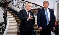 Johnson seeks to woo Trump, talk tough to EU at G7