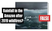 Fact-check: Rainfall in the Amazon after 2019 wildfires?