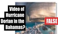 Fact-check: Video of Hurricane Dorian in the Bahamas?