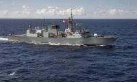 Canadian warship sails through Taiwan Strait