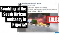 Fact-check: Bombing at South African embassy in Nigeria?