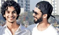 Shahid Kapoor and Ishaan Khatter give off major sibling goals