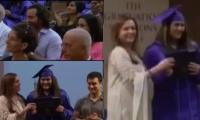 Sara Ali Khan's graduation video shows Saif Ali Khan, Amrita Singh beaming with pride