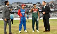 Afghanistan opt to bat first in Bangladesh T20