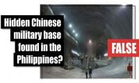 Fact-check: Hidden Chinese military base found in the Philippines?