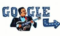 B.B. King paid tribute to with Google Doodle on his 94th birthday