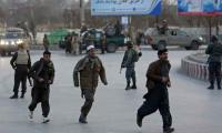 Blast kills 24 near election rally for Afghan president
