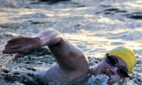 US swimmer criss-crosses Channel in 54-hour feat