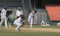 Quaid-e-Azam Trophy: KP leads with 13 points as all three games end as draw